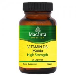 Vitamin D3 30 Capsules
