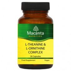 L-Theanine & L-Ornithine Complex 30 Capsules