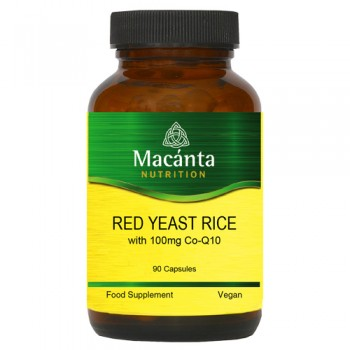 Red Yeast Rice with 100mg CoQ10 90 Capsules
