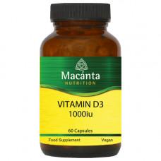 Vitamin D3 1000iu 60 Capsules