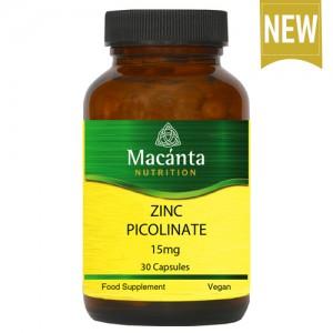 Zinc Picolinate 15mg 30 Capsules